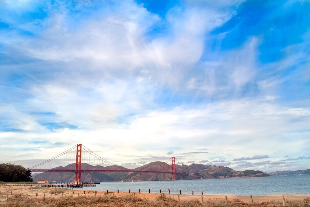Exploring The Golden Gate Bridge And The Palace Of Fine Arts